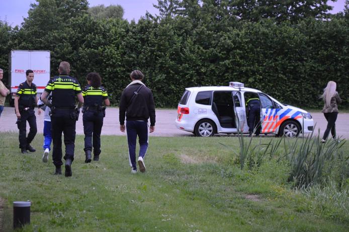 Twee mannen aangehouden in Groessen na inbraak.