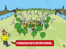 Extra windturbines: slikken of stikken voor Overbetuwe