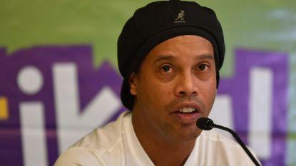 Failliete Ronaldinho ziet drie wagens en kunstwerk in beslag genomen