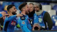 Nummer 121! Met een prachtige goal tegen het grote Barcelona kroont laatbloeier Mertens zich tot gedeeld topschutter Napoli