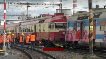 VIDEO. Meer dan twintig gewonden bij treinongeval in Tsjechië