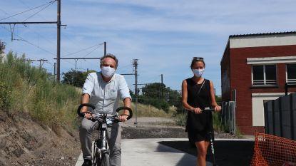 Nieuw stuk fietspad verbindt wijk Arsenaal met Dijlevallei