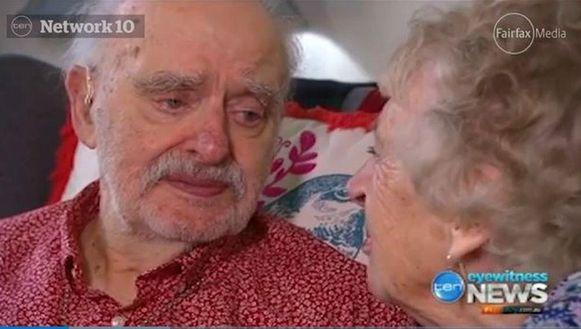 James en zijn vrouw Peggie.
