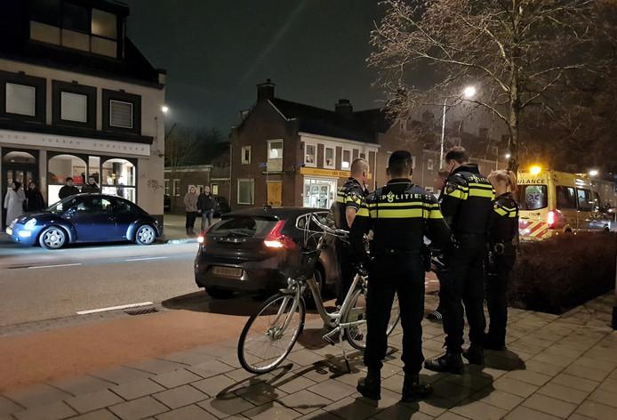 De afhandeling van het ongeluk aan de Oerlesestraat in Tilburg.