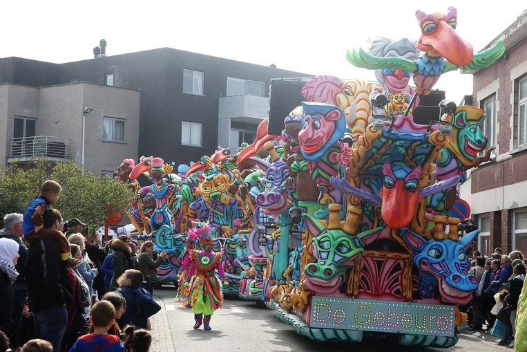 De Gebeure winnen Carnaval Halle voor de vierde keer met hun eigen versie van The Lion King.