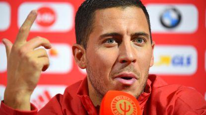 Eden Hazard dribbelt al zijn collega-Duivels voorbij als social media-koning van nationale ploeg