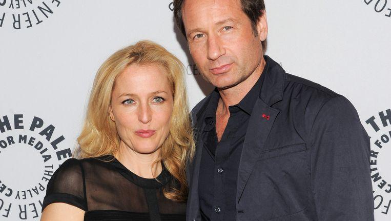 Gillian Anderson en David Duchovny