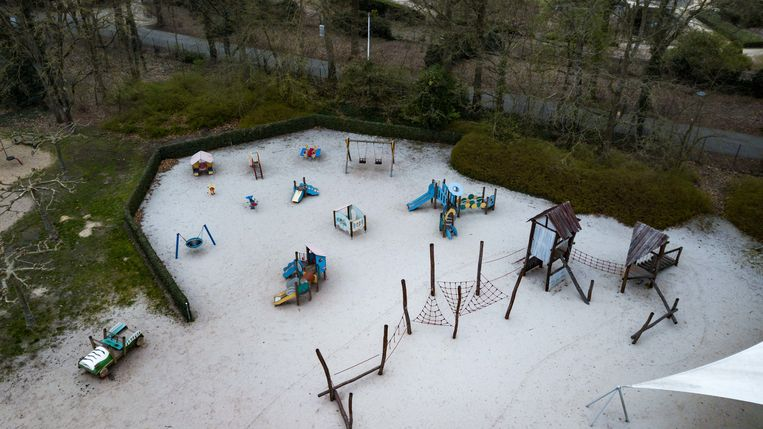 Het openluchtmuseum in Bokrijk en de bijhorende speeltuin.