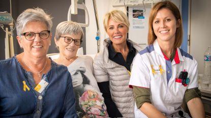 Dana Winner bezoekt kankerpatiënten Mariaziekenhuis