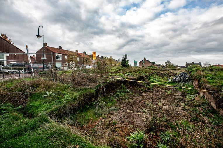 In Klundert ligt de bouw stil van woningen op de zogenoemde Bult van Pars, waar ooit een oliemolen stond. Beeld Raymond Rutting / de Volkskrant