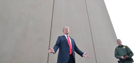 Pentagon reserveert miljard dollar voor grensmuur van Trump
