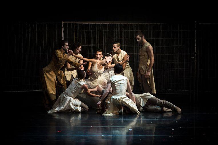 Een petitie van Scapino Ballet Rotterdam, waarmee het balletgezelschap aandringt voor het behoud van de jaarlijkse rijksbijdrage van 1,7 miljoen, verzamelde binnen twee weken meer dan 60 duizend handtekeningen. Beeld ANP