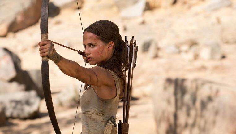 Alicia Vikander als Tomb Raider Beeld