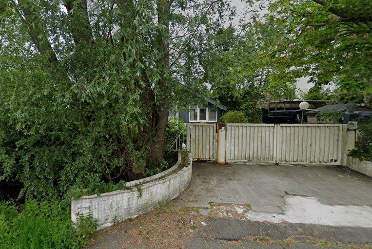 De vervallen villa van Rooie Ron in Vinkeveen. Beeld Screenshot Google Streetview