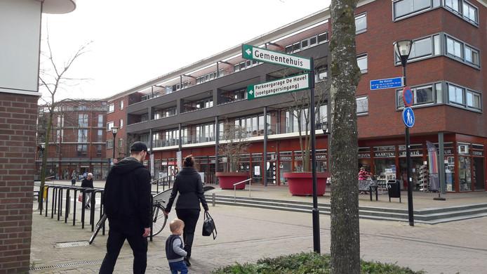 Winkelcentrum De Hovel in Goirle.