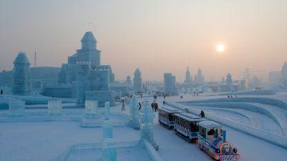 Stad van ijs en sneeuw