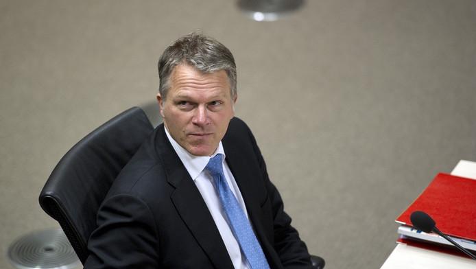 Oud-minister van Financien Wouter Bos