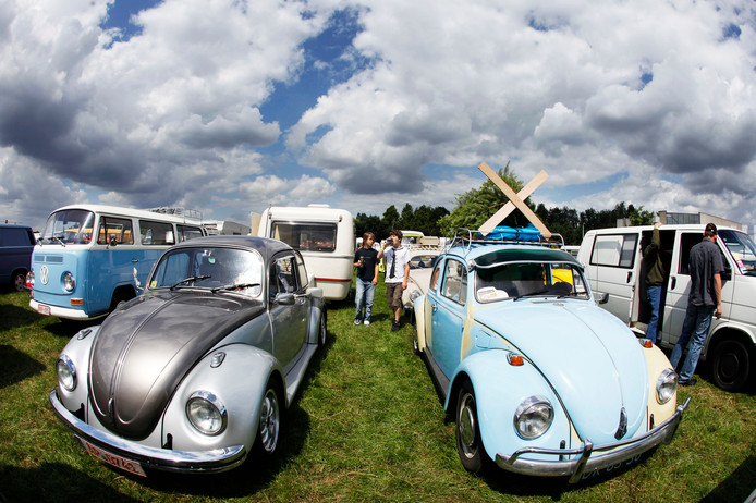 Kevers op The VW Aircooled Event in Budel, in 2013