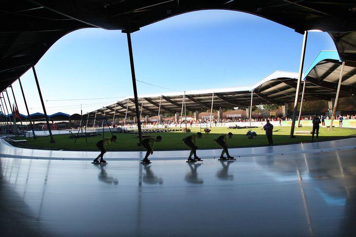 De Scheg in Deventer, waar normaal gesproken dit weekend de IJsselcup zou worden gehouden.