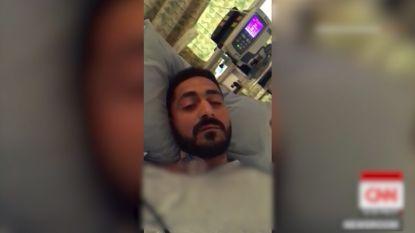 Papa en dochtertje (4) raakten gewond tijdens aanslag Christchurch, nu deelt hij emotionele videoboodschap vanuit ziekenhuis