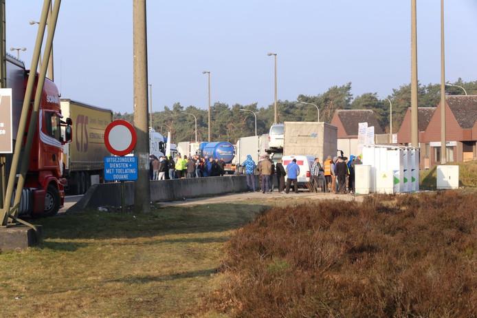 Chaos aan de grens door tolheffing