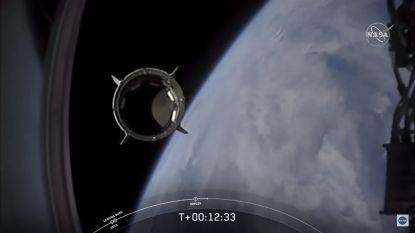 HERLEES. Lift-off! Historische lancering van Crew Dragon geslaagd