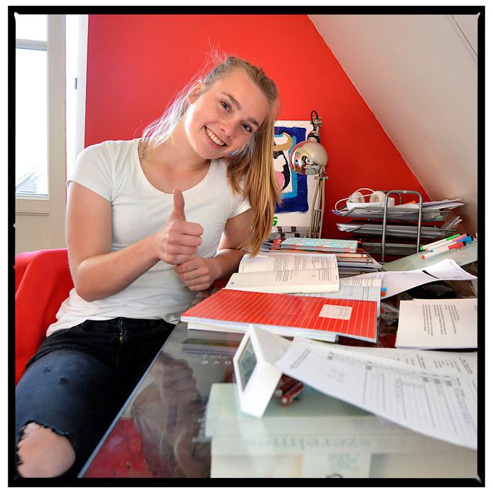 Roos Lelifeld heeft voor de ALO als vervolgopleiding gekozen, omdat dat bij haar past.