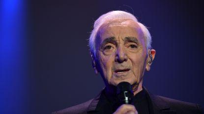Franse zanger Charles Aznavour (94) overleden