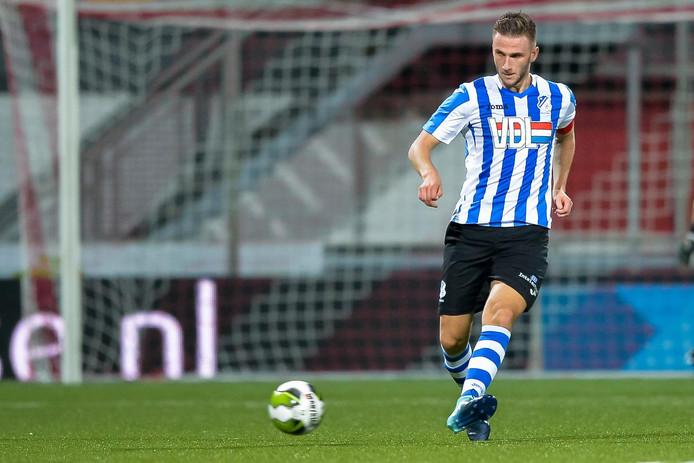 Acrhiefbeeld FC Eindhoven-aanvoerder Branco van den Boomen.