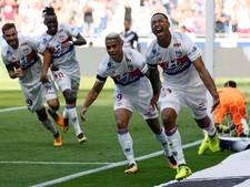 Scorende Tete ziet Lyon in slotfase ruime voorsprong verspelen