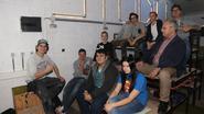 Leerlingen maken concertzaal van klaslokaal