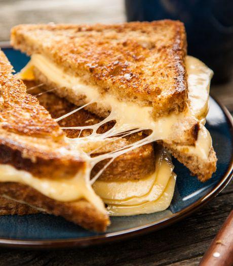 Is een tosti ongezonder dan een boterham met kaas?