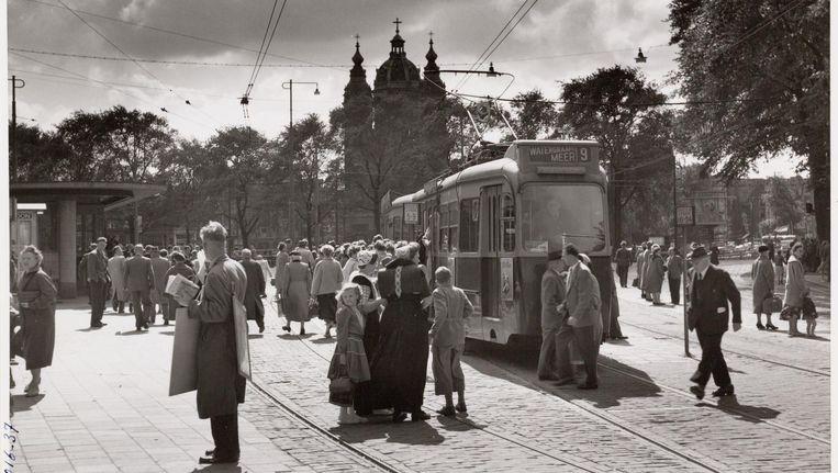 Tramlijn 9 Beeld Stadsarchief Amsterdam