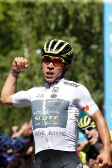 Sprinter Ewan woedend over beslissing Mitchelton-Scott
