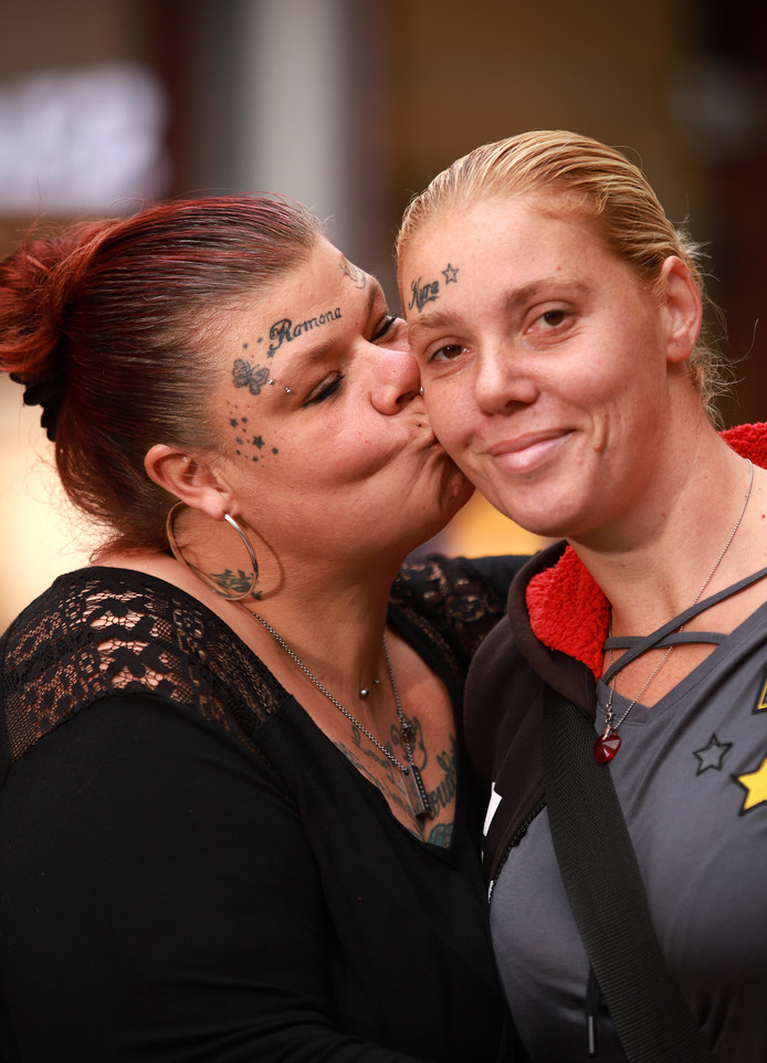 Kyra Heller en Ramona Vaes