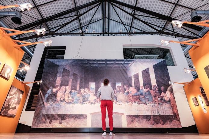 De Da Vinci tentoonstelling op het DRU Industriepark