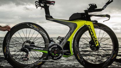 De fiets van meer dan 15.000 euro waarmee Frederik Van Lierde aan de slag gaat (en waarmee ook Lamborghini zijn ding deed)