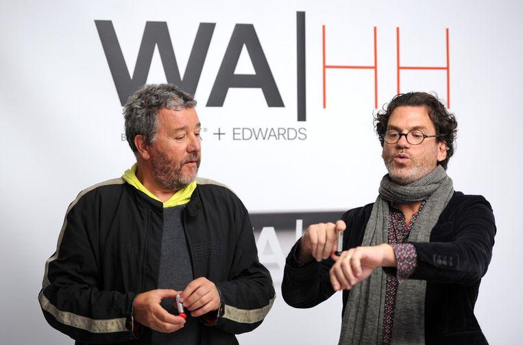 Philippe Starck eb David Edwards stellen hun snufje voor.