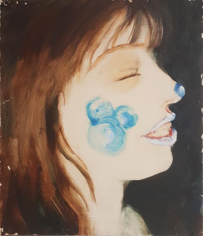 Schilderij van Annie Schepens-Versteden.