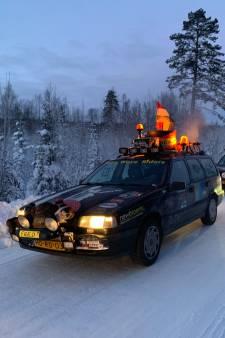 'Wij rijden hier gewoon met honderd over de besneeuwde wegen'