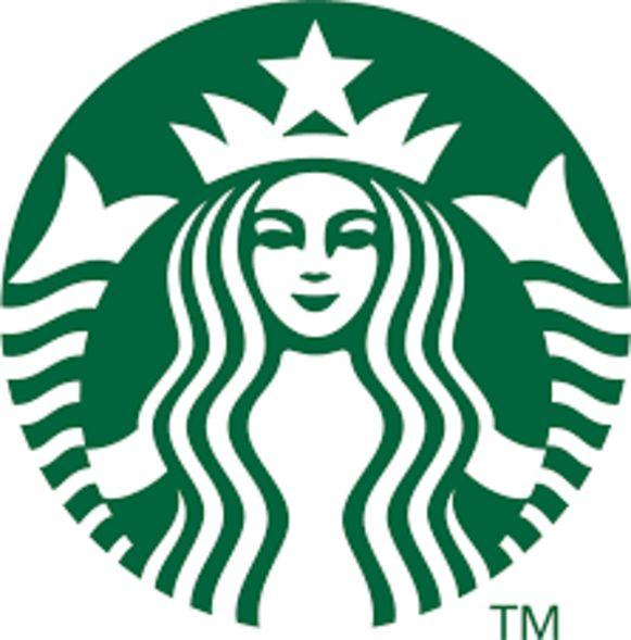 Het huidige Starbucks-logo