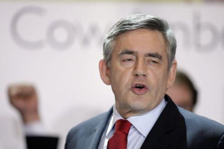 De Britse premier Gordon Brown. ANP Beeld