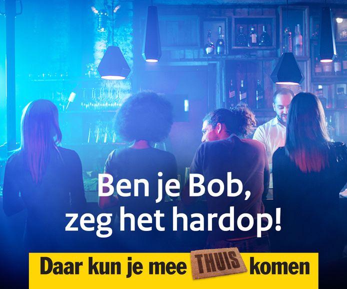 De nieuwe slogan van de BOB-campagne