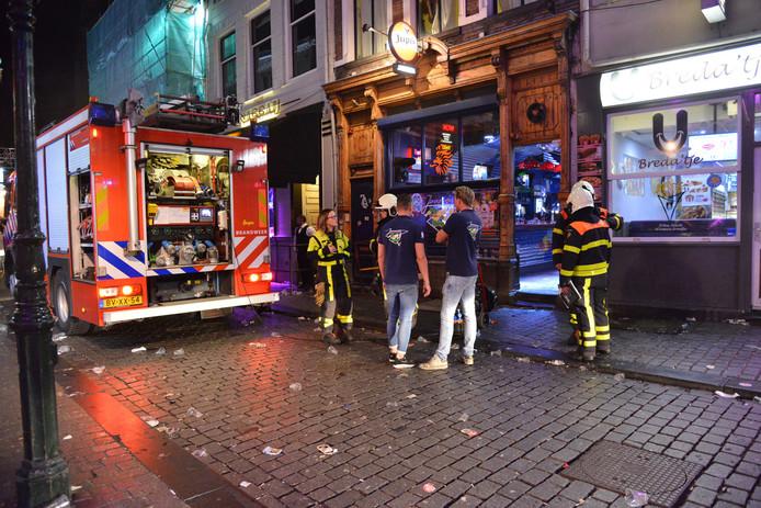 Mensen onwel in kroeg in Breda