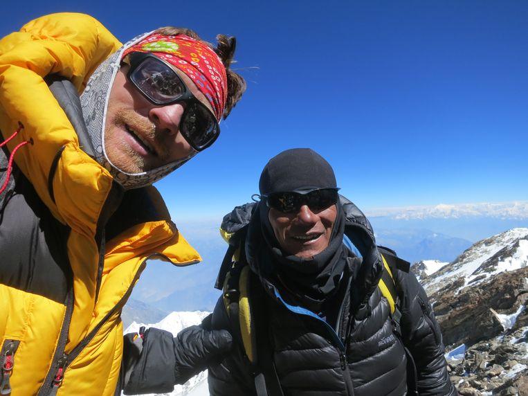 Niels Jespers is nog maar de derde Belg die de top van de Nanga Parbat in Pakistan haalt.