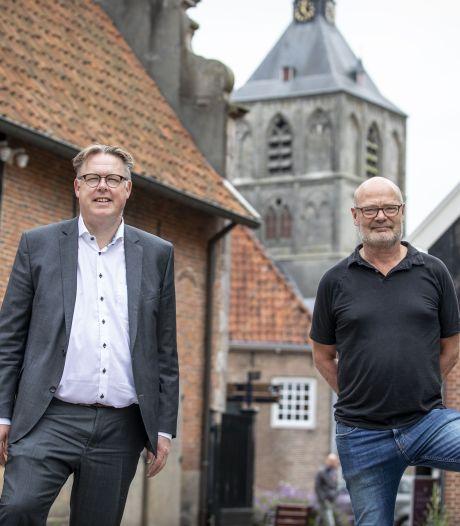 Presentatie lichtplan op receptie Boeskool Oldenzaal: 'Het was gewoon op'