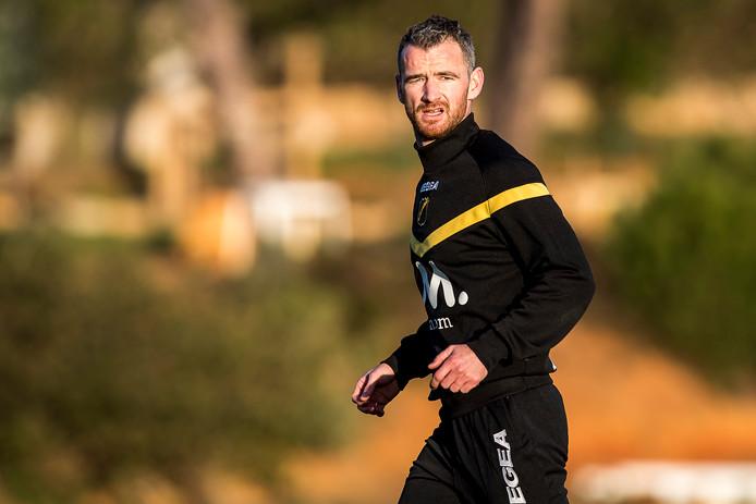 """Robbie Haemhouts gelooft nog in zijn kansen bij NAC. ,,Je gaat mij nog terugzien in de eredivisie."""""""