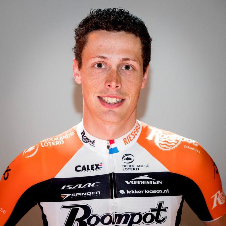 Oscar Riesebeek van Roompot-Nederlandse Loterij. Beeld anp
