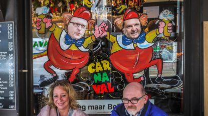 Carnavalsfeer tot in de cafés