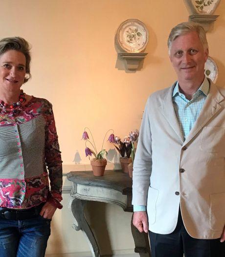 Koning Filip en prinses Delphine ontmoeten elkaar voor het eerst tijdens een lunch: 'Een bijzonder gesprek'